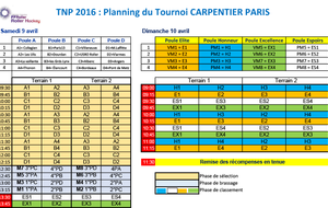 Tournoi National Poussin 2016